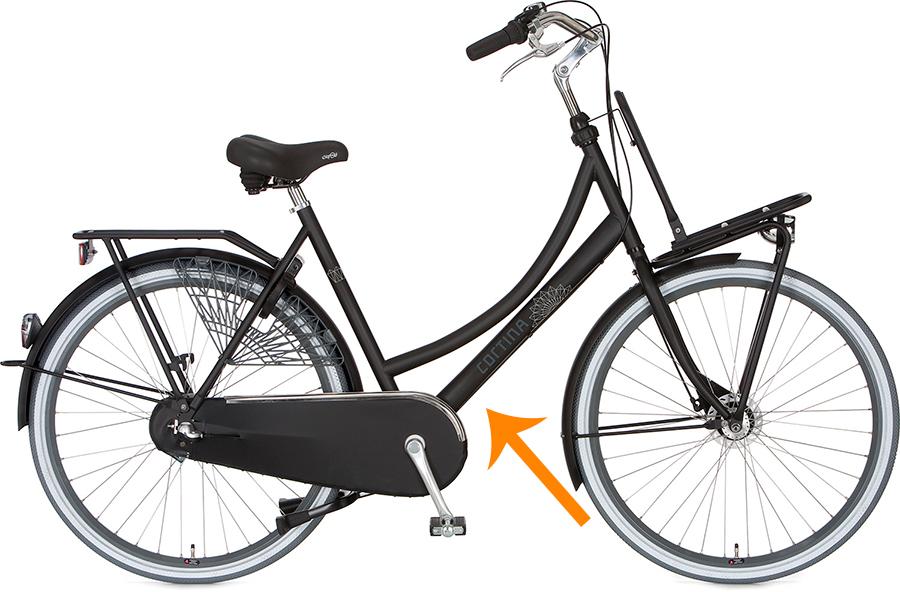 betrouwbare kwaliteit beste plaats uitstekende kwaliteit Het cortina-framenummer, waar vind je die?   BikeBudget.nl
